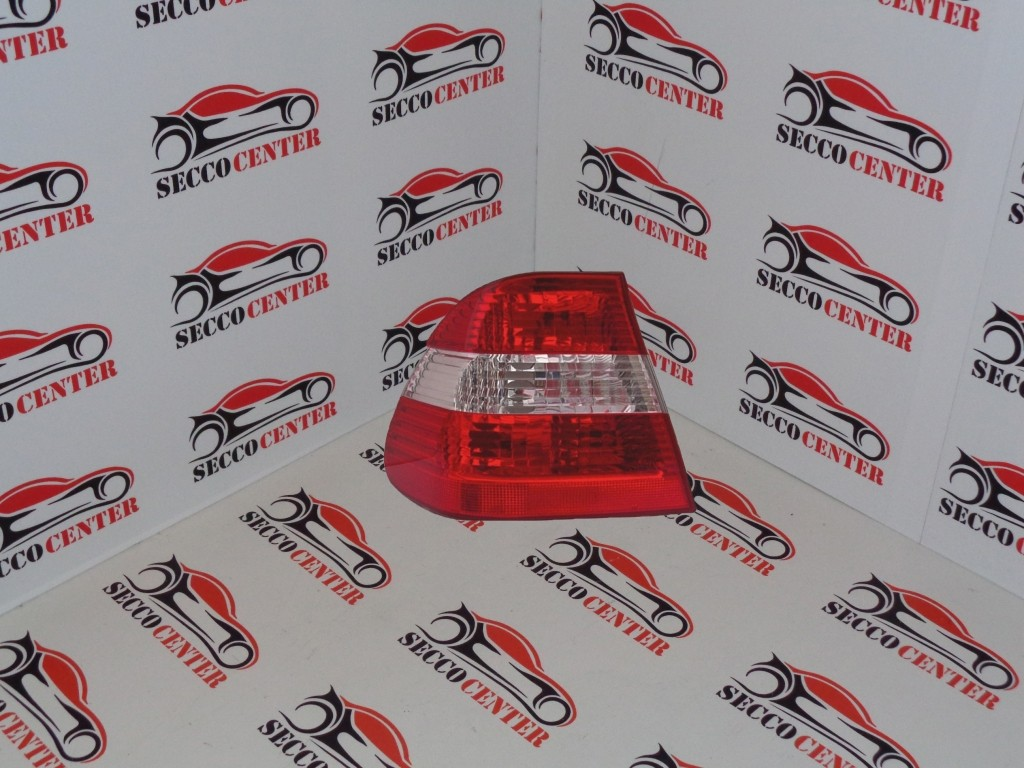 Lampa spate stop BMW Seria 3 E46 2001 2002 2003 2004 2005 rosu alb exterior stanga