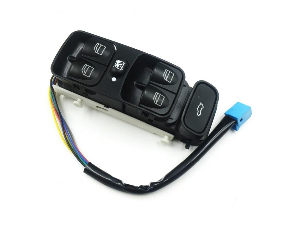 Comutator buton macara geam electric Mercedes C Class W203 2000 2001 2002 2003 2004 2005 2006 2007 fata stanga