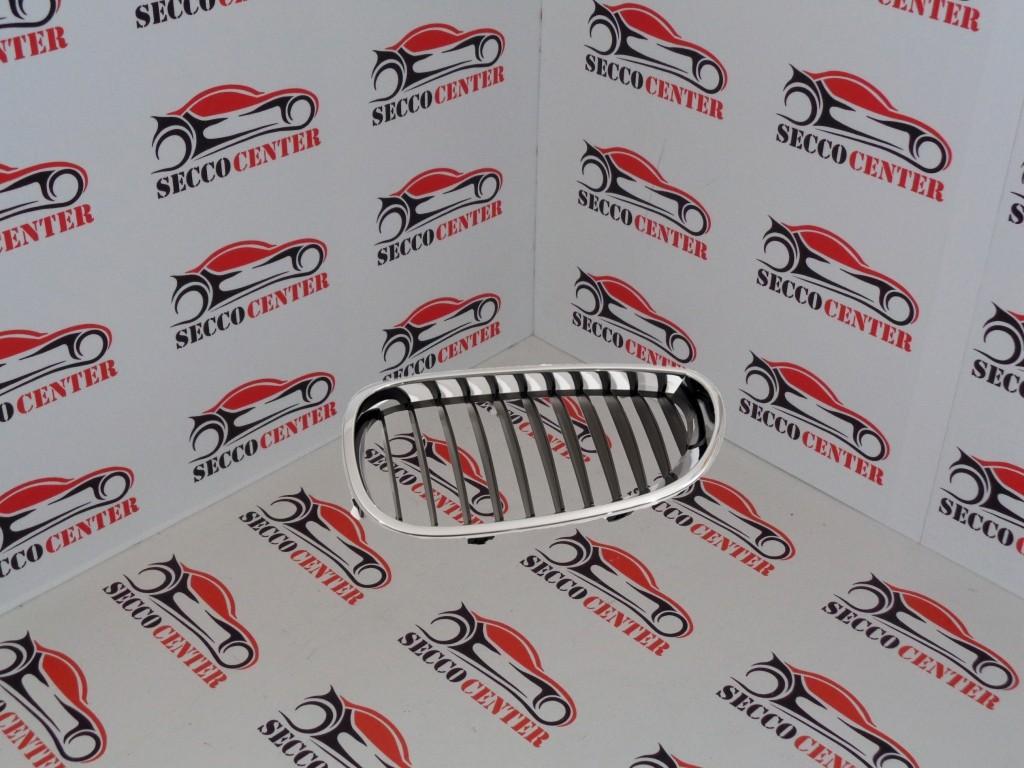 Grila radiator BMW Seria 5 E60 2003 2004 2005 2006 2007 crom negru stanga