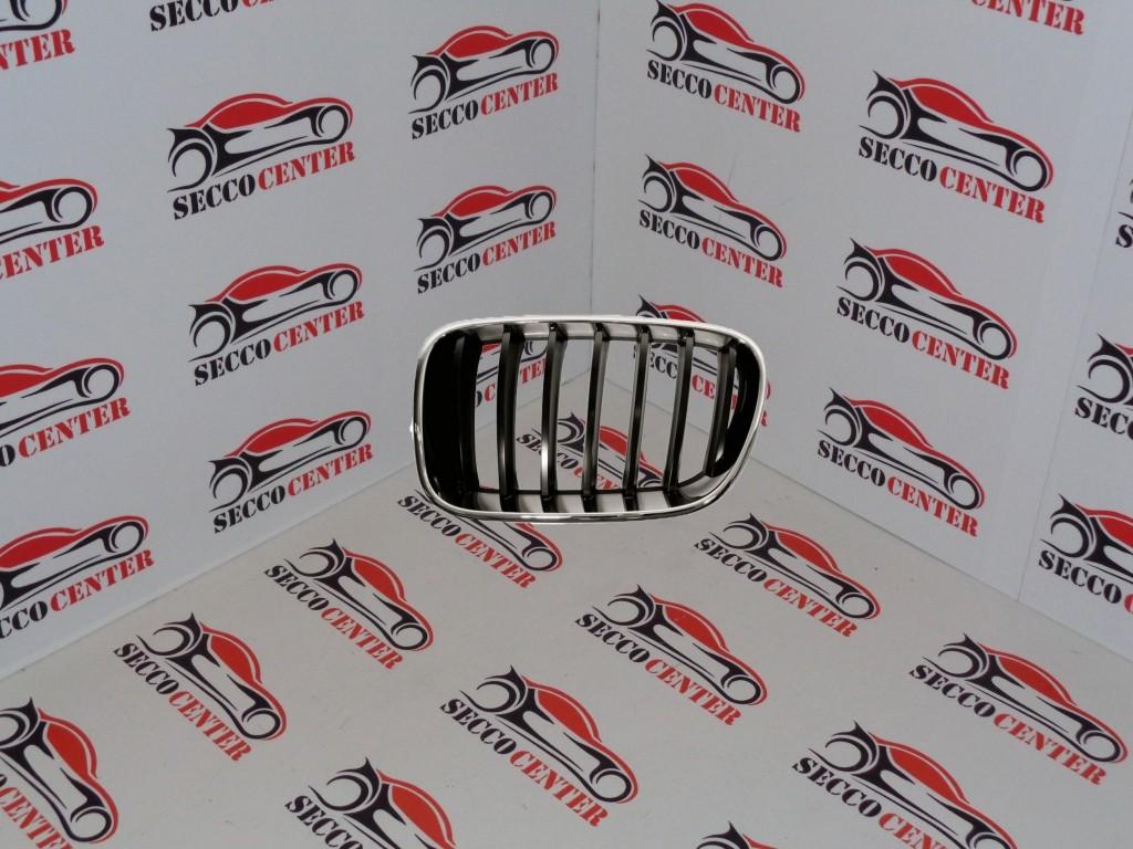 Grila radiator BMW X3 F25 2011 2012 2013 2014 crom negru stanga