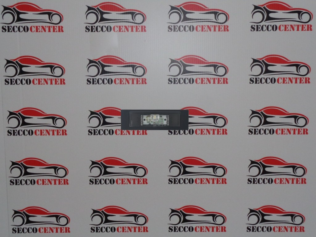 Lampa numar inmatriculare BMW Seria 1 E87 E81 2007 2008 2009 2010 2011 LED