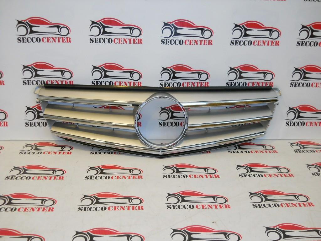 Grila radiator Mercedes C Class W204 2007 2008 2009 2010 2011 Avantgarde crom gri